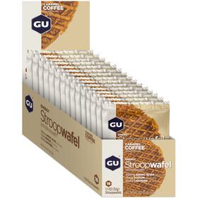 GU Energy Stroop Wafelki - Opakowanie 16x32g, Caramel Coffee